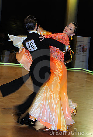 Dance Tournament Editorial Photo
