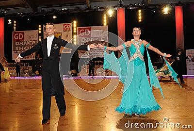 Dance Tournament Editorial Stock Photo