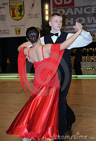 Dance Tournament Editorial Stock Image