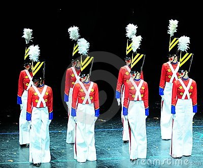 Dance Of The Toy Soldiers Editorial Stock Photo