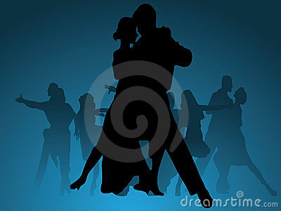 Dance vector background