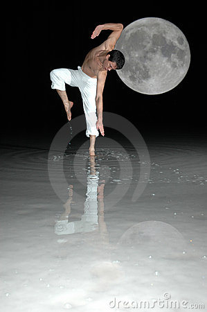 Free Dance With The Moon Stock Photos - 322323
