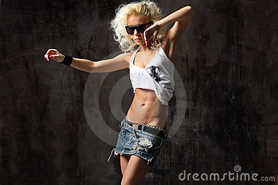 Dancer Royalty Free Stock Photos - Image: 13009388