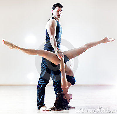 Dancer couple