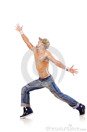 Dancer dancing