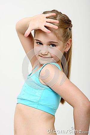 Free Dancer Girl Stock Images - 9950224