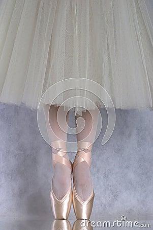 Free Dancer In Ballet Pointe Stock Photo - 3198800