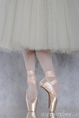 Free Dancer In Ballet Pointe Royalty Free Stock Photos - 3198828