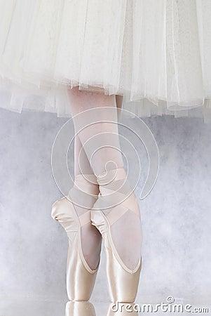 Free Dancer In Ballet Pointe Stock Photo - 4455740