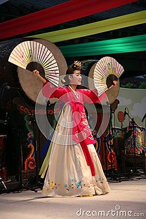Dancer korean Editorial Image