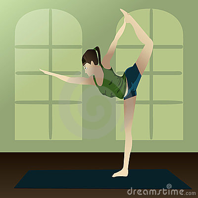 Dancer pose