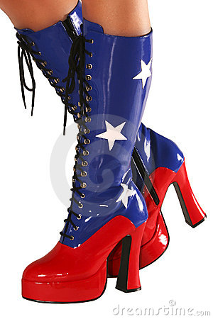 Free Dancer S Boots Stock Photo - 6532430