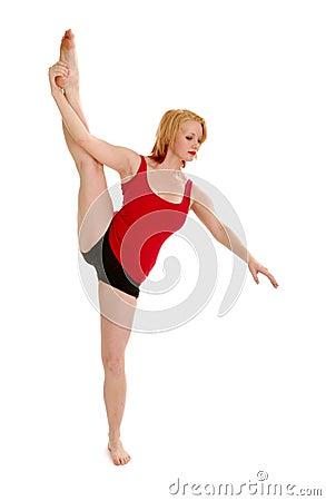 Dancer with Standing Split