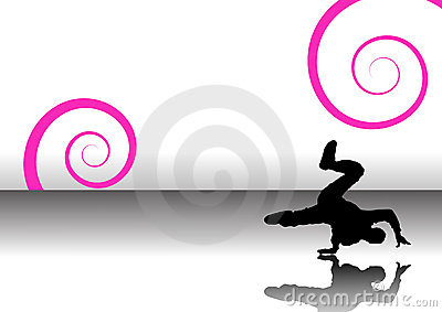 Dancer swirls