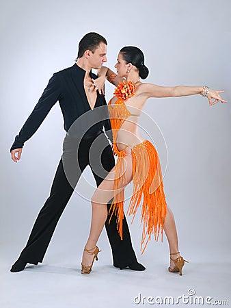 Free Dancers Royalty Free Stock Image - 11457826