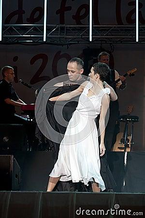 Dancers Editorial Stock Photo
