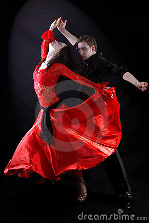 Free Dancers Royalty Free Stock Photos - 9624908