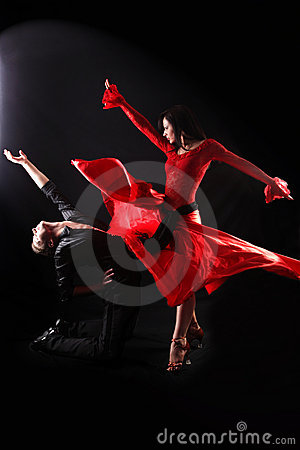 Free Dancers Royalty Free Stock Image - 9777956