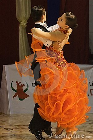 Dancers: Dragos Ana and Diandra Iles Editorial Photo
