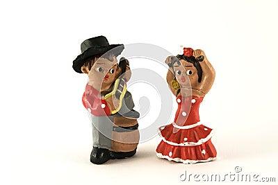 Dancers figures