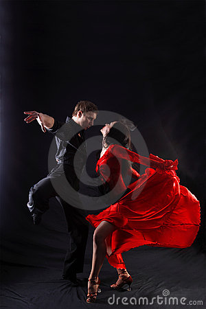 Free Dancers In Action Stock Image - 10141831