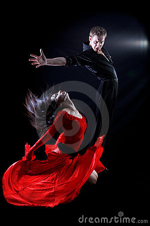 Free Dancers In Action Stock Images - 9624924