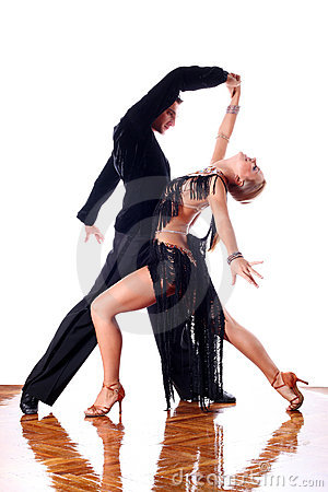 Free Dancers In Ballroom Stock Images - 11081564