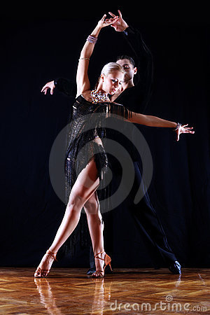 Free Dancers In Ballroom Stock Photo - 11314180