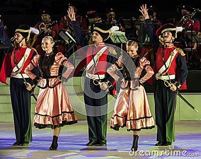 Dancers Editorial Photo