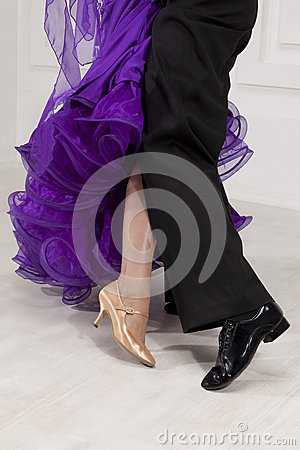 Dancers legs