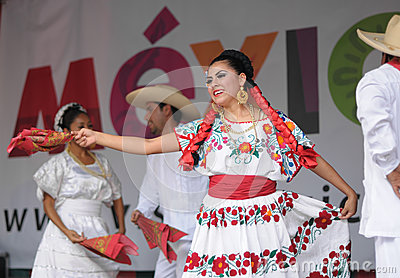 Mexican folkloric dance Editorial Photo