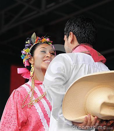 Xochicalli Mexican folkloric group Editorial Stock Photo