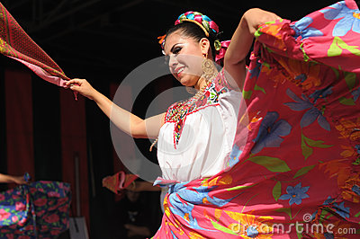 Mexican folkloric ballet Editorial Image