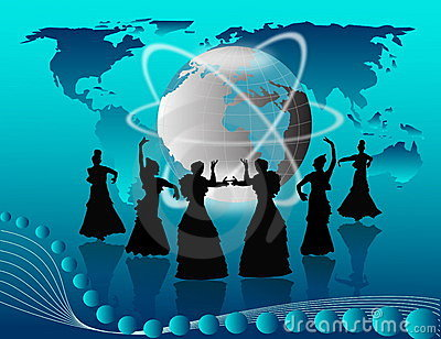 Dancing all around the world