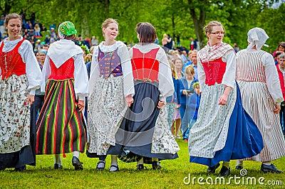 """""""So Anna Von Reitz has a Different Point of View?"""" by Jo Ana - 5.4.18 Dancing-around-maypole-midsummer-gothenburg-sweden-june-unknown-dancers-traditional-swedish-dress-celebration-60181070"""