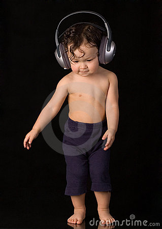 Free Dancing Baby. Stock Image - 3949971