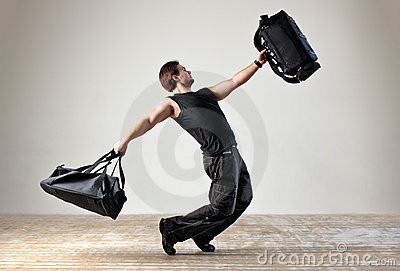 Dancing with bags