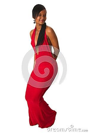 black lady in red dress other dresses dressesss. Black Bedroom Furniture Sets. Home Design Ideas