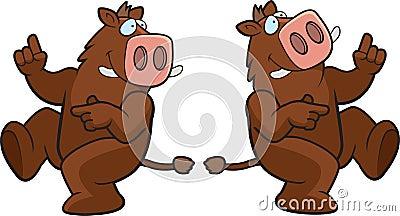 Dancing Boar