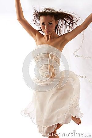 Free Dancing Bride Stock Photos - 15316443