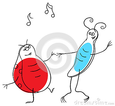 Dancing bugs