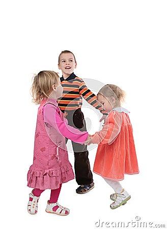 Free Dancing Children 2 Royalty Free Stock Image - 4235216