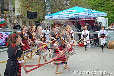 Dancing children Editorial Photography