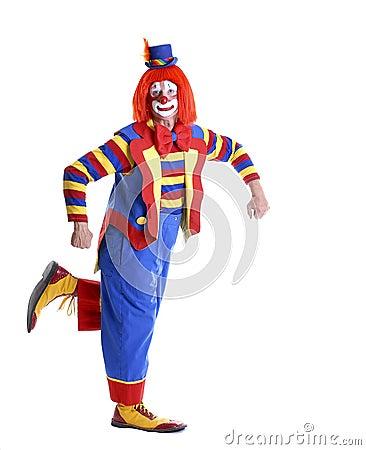 Dancing Circus Clown