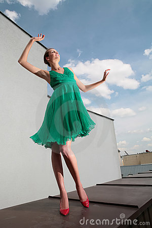 Dancing With Clouds Royalty Free Stock Photo - Image: 6685915