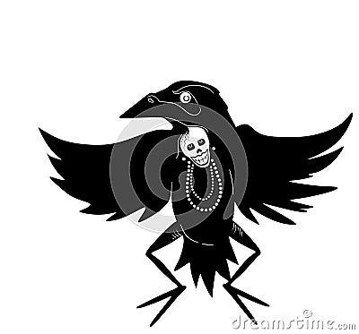 Dancing Crow Man
