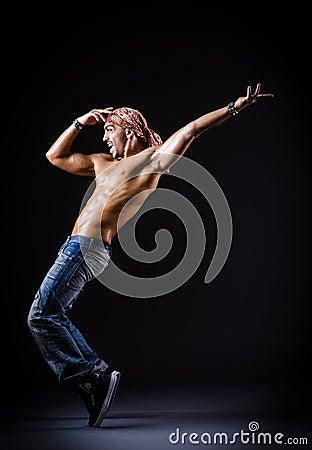 Dancing del ballerino