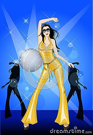 dancing in the disco