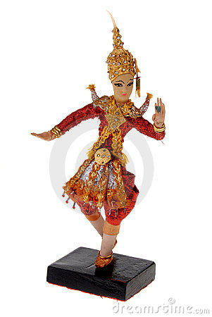 Free Dancing Doll From India Stock Photography - 2181402