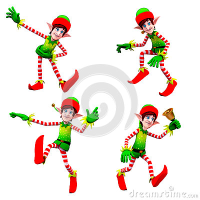 Dancing elves